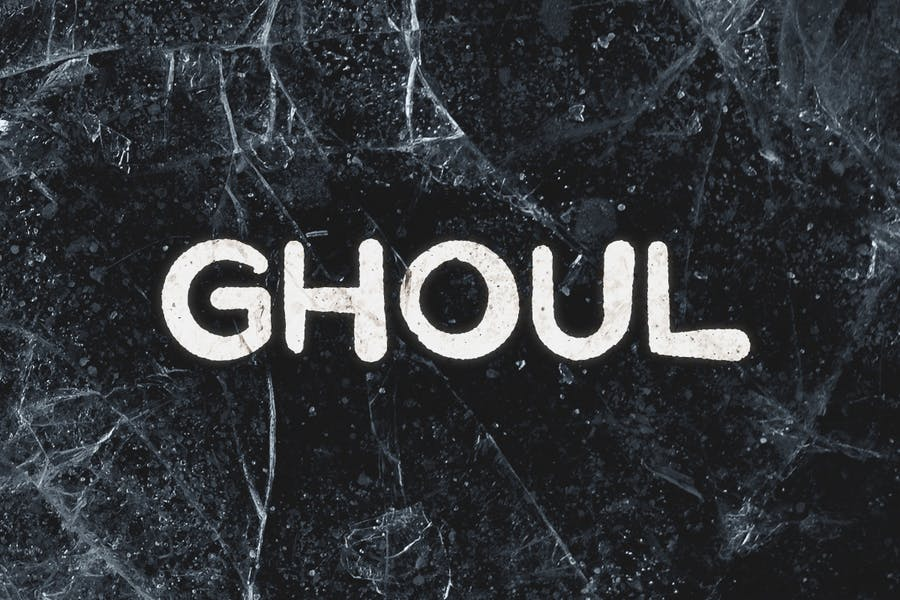 Ghoul Horror Themed Fonts