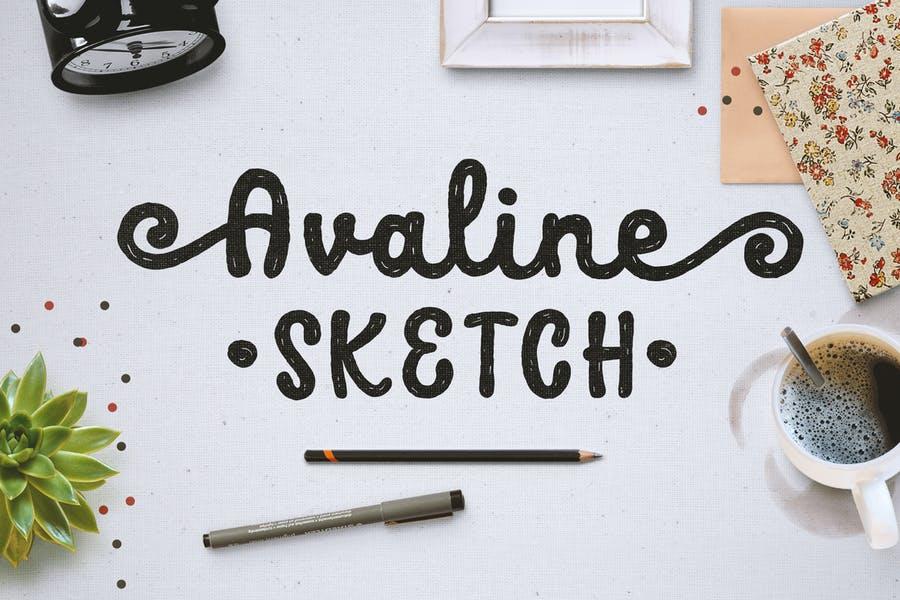 Hand Written Fun Sketch Fonts