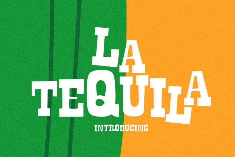 La Tequila Mexican Fonts