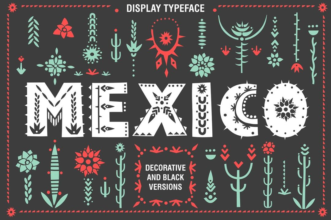 Mexican Tribal Fonts Download