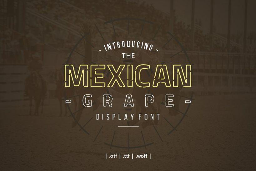 21+ Unique Mexican Fonts OTF & TTF Format Download