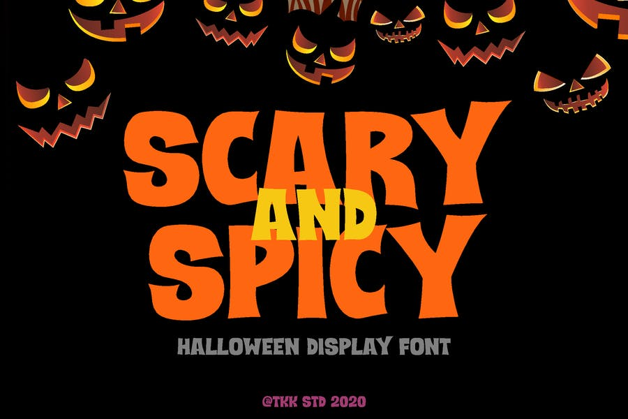Scary and Spicy Halloween Fonts