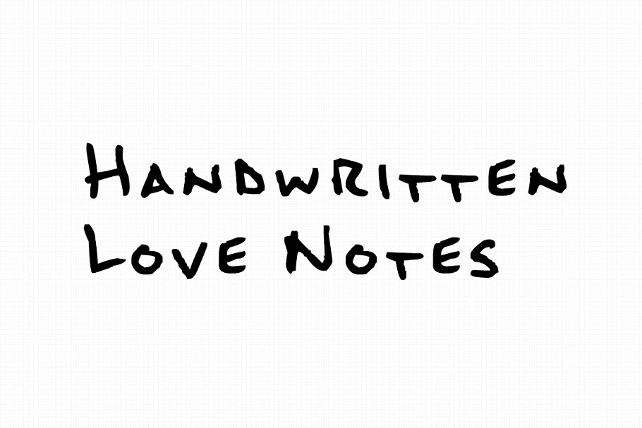 Simple Handwritten Sketch Fonts