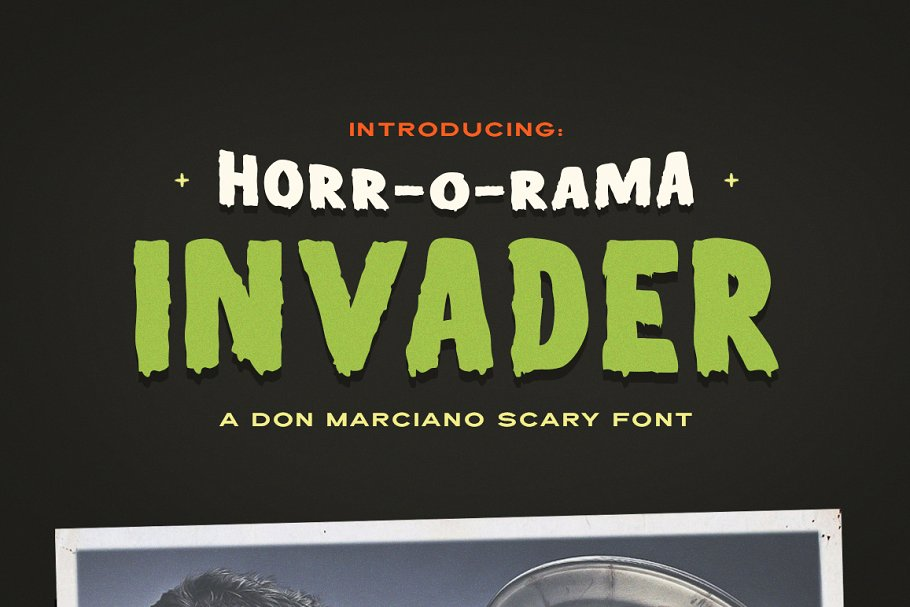 Terror and Halloween Movie Fonts