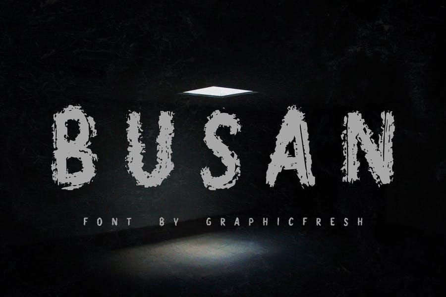 The Best Horror Brush Font
