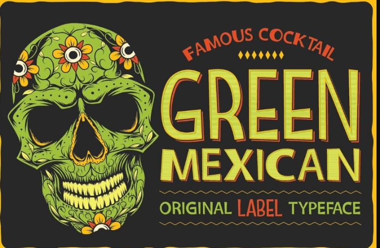 Vintage Mexican Style Fonts