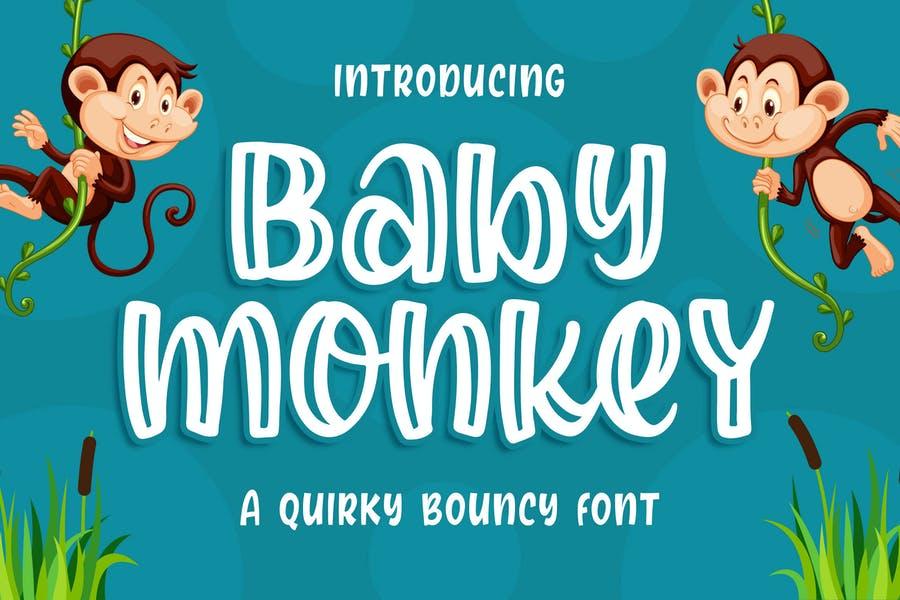 Baby Monkey Fonts TTF