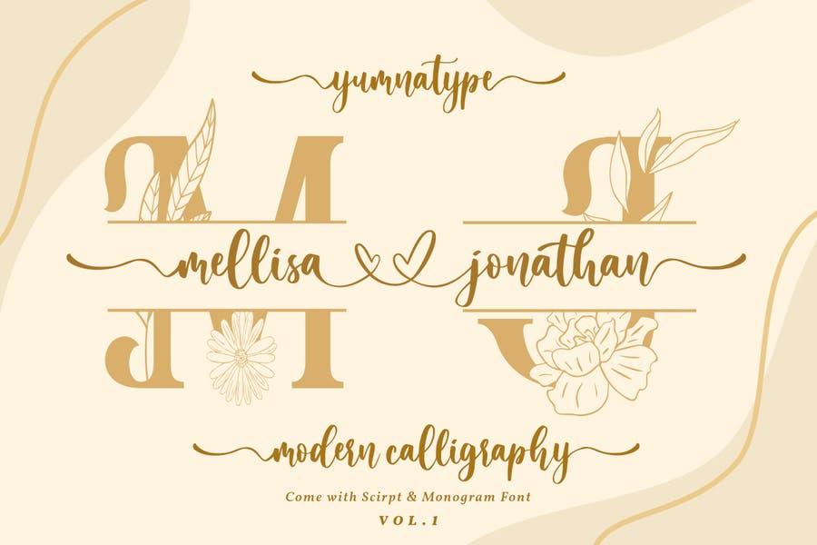 Beautiful Wedding Fonts