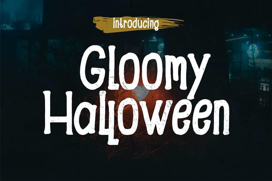 Best Gloomy Halloween Fonts