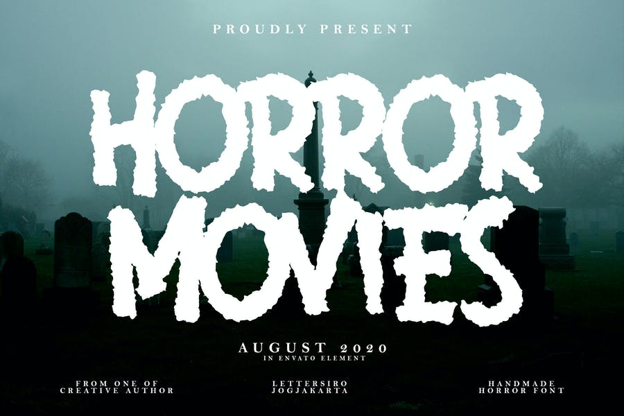 Best Halloween Themed Movie Fonts