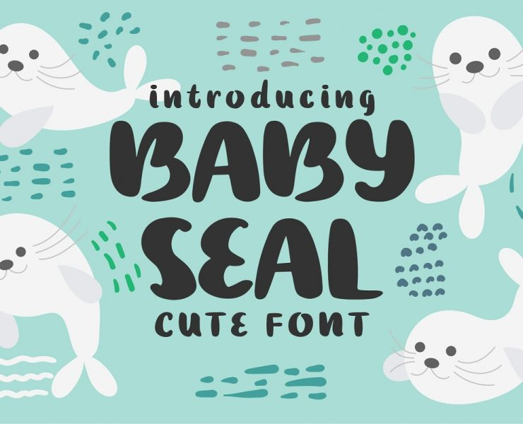 25+ Baby Fonts For Comic & Children Books