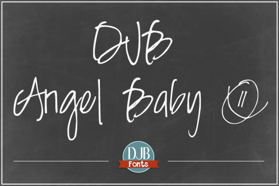 Cute Baby Angel Fonts