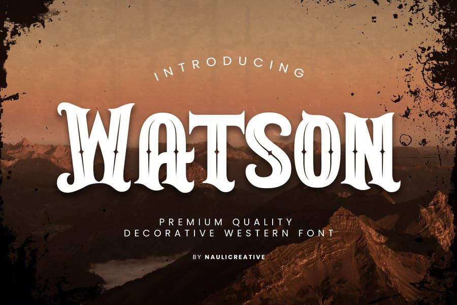 Decorative Western Movie Fonts