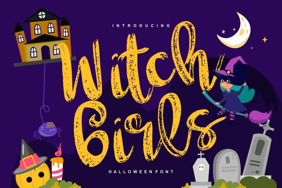 Girly Halloween Fonts