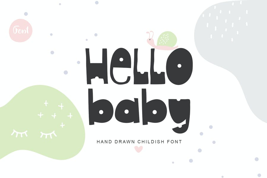 Hand Written Childish Fonts