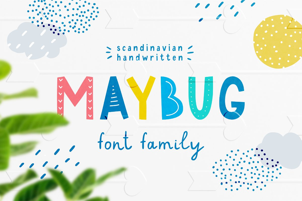 Handwritten Baby Folk Fonts