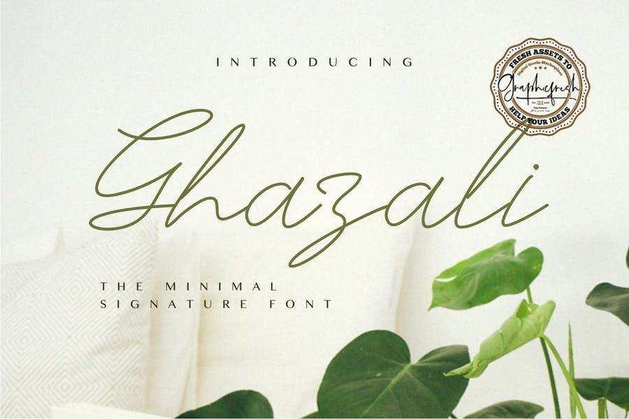 Minimal Wedding Fonts TTF