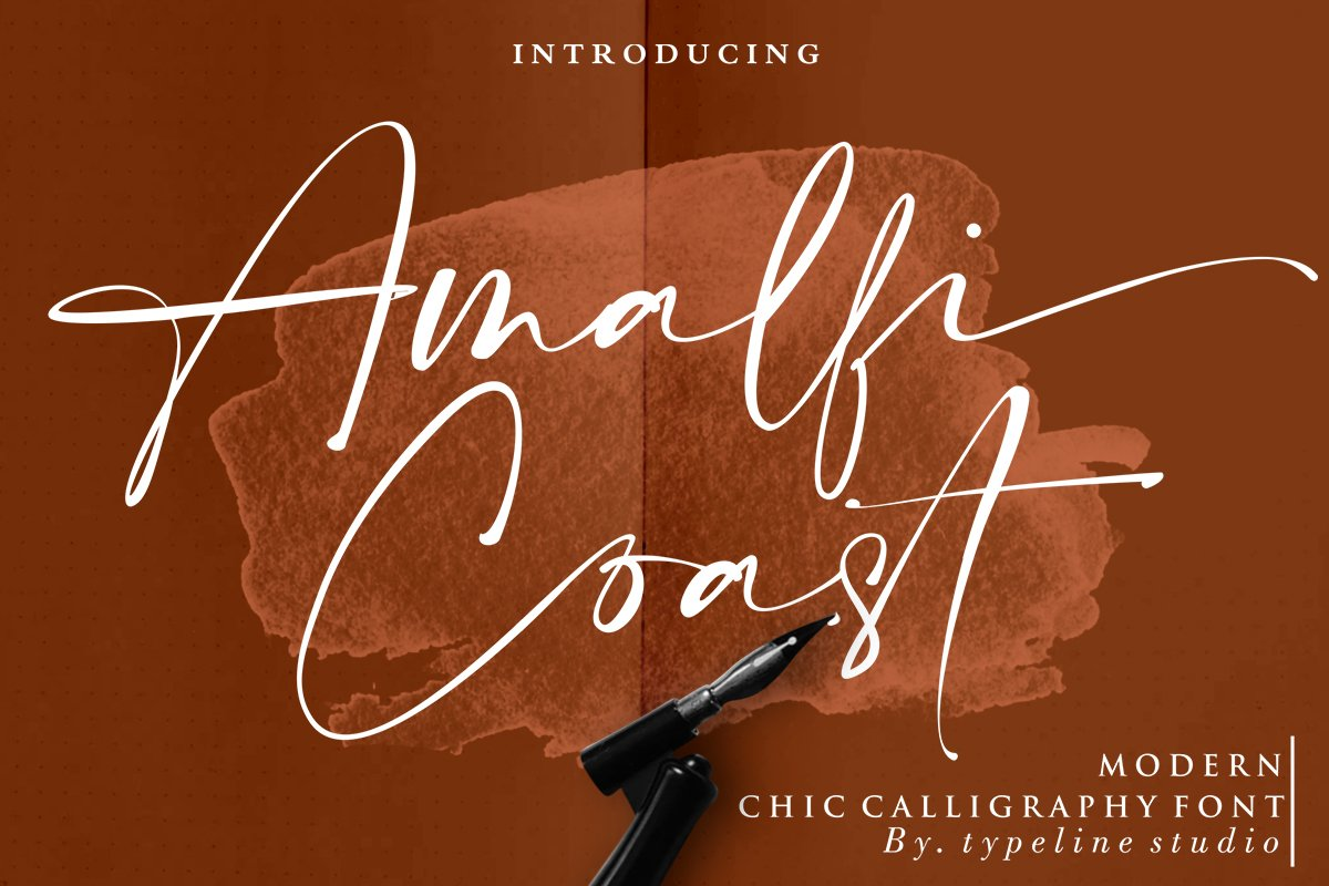 Modern Chic Calligraphy Fonts