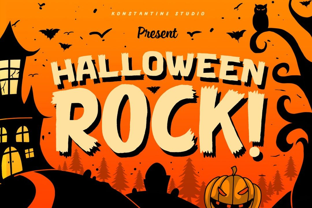 Perfect Halloween Party Fonts