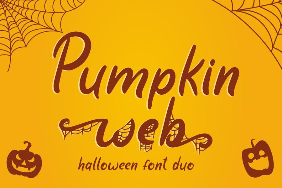 Pumpkin Display Web Fonts
