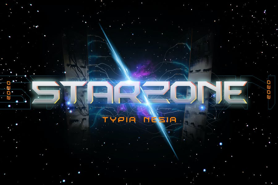 Space Opera Movie Font