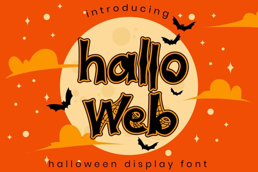 Unique Halloween Web Fonts