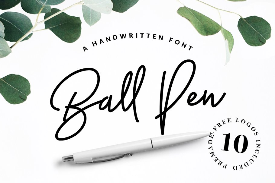 Ball Pen Girly Fonts
