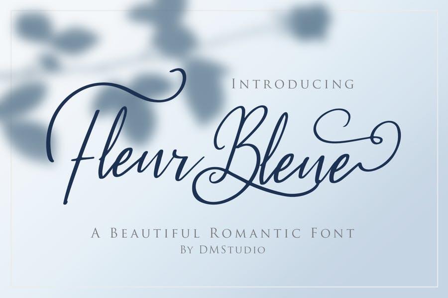 Beautiful Romantic Typeface Fonts