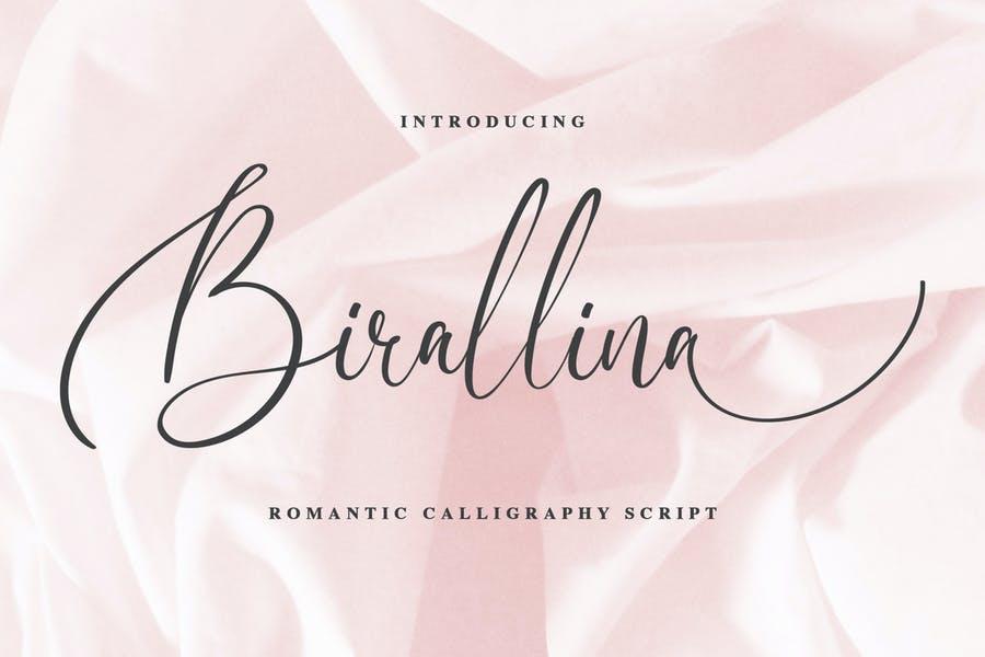 Best Romantic Calligraphy Fonts