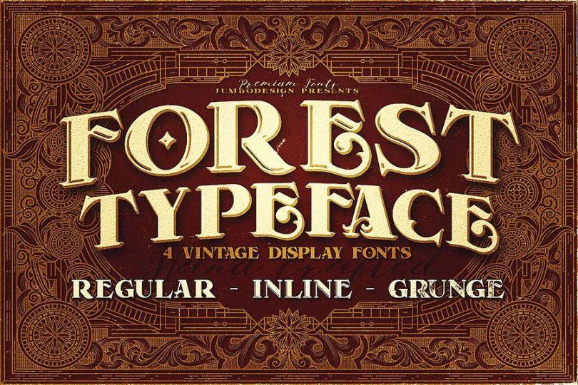 Best Vintage Typeface Font
