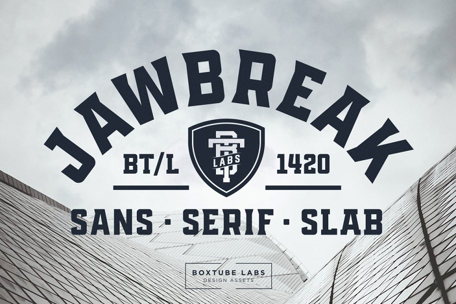 Black Athletic Fonts Pack