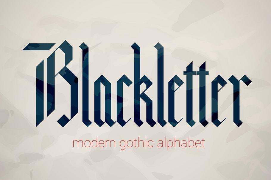 Blackletter Gothic Fonts