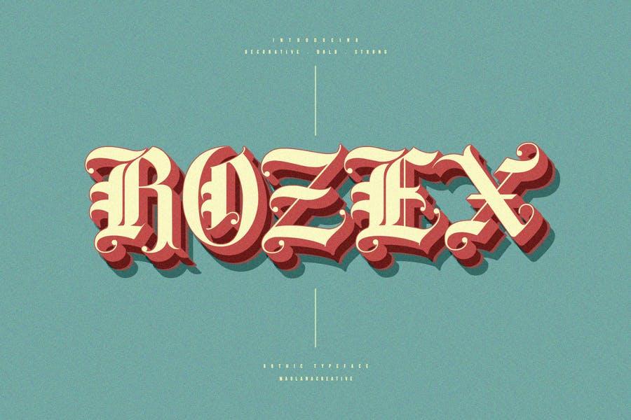 Bold Decorative Gothic Fonts