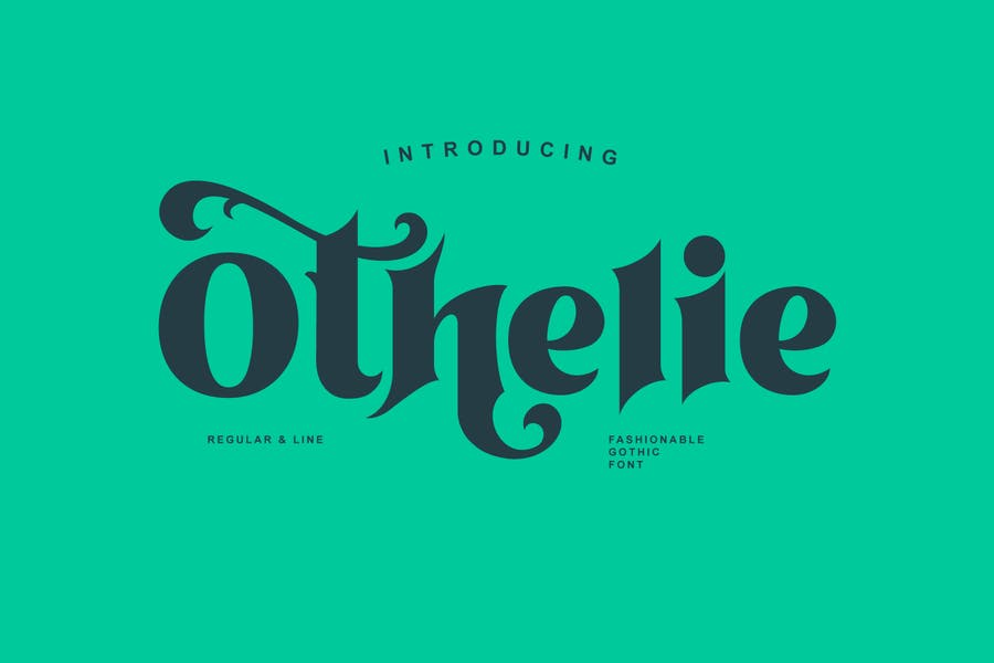 Bold and Beautiful Gothic Fonts
