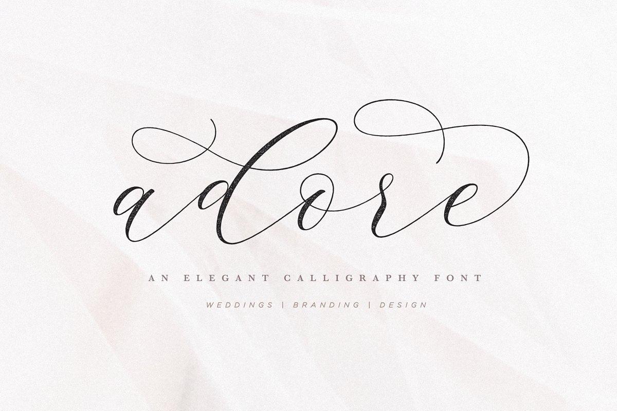 Calligraphy Swash Fonts