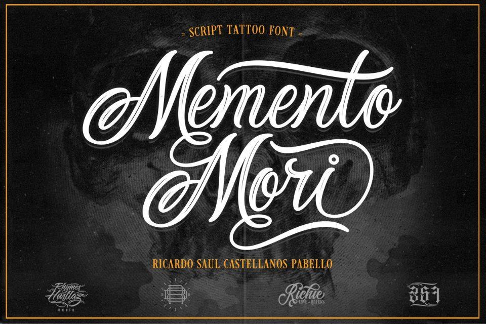 Calligraphy Tattoo Fonts