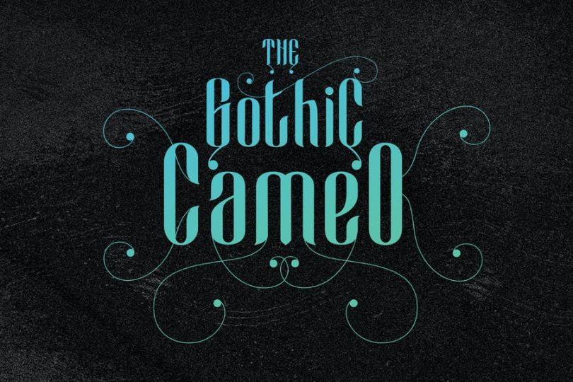 Cameo Gothic Fonts