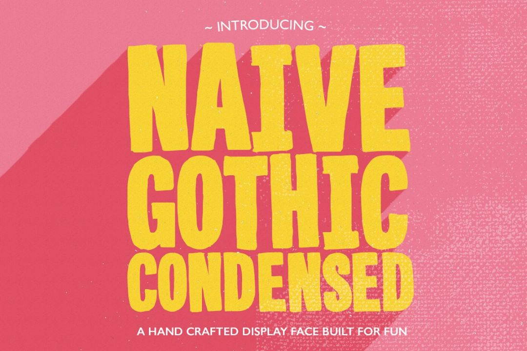 Condenced Gothic Style Fonts