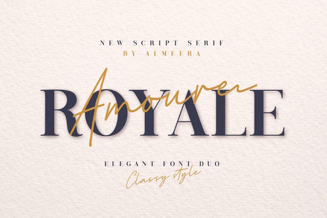 Elegant Royal Fonts TTF