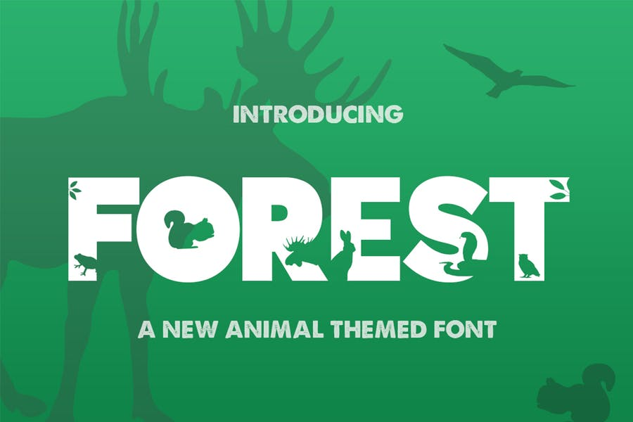 Forest Themed Fonts