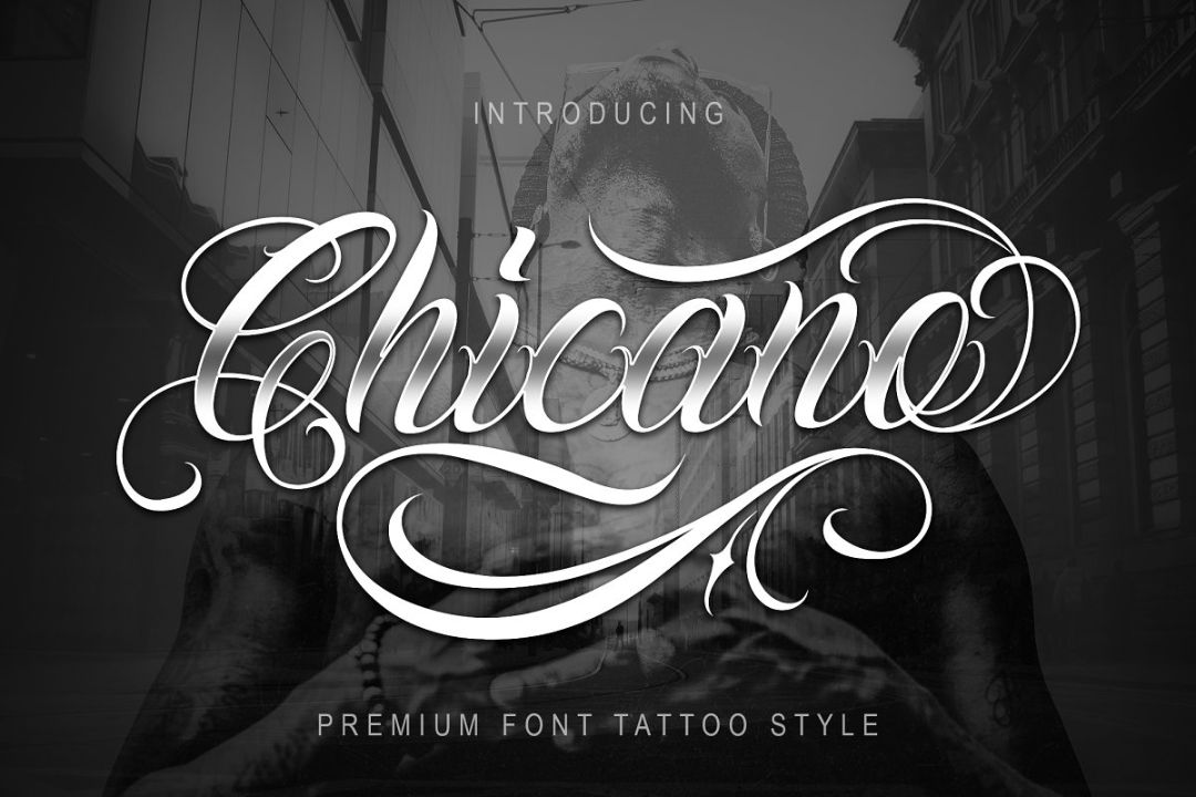 Gangster Tattoo Fonts Ideas