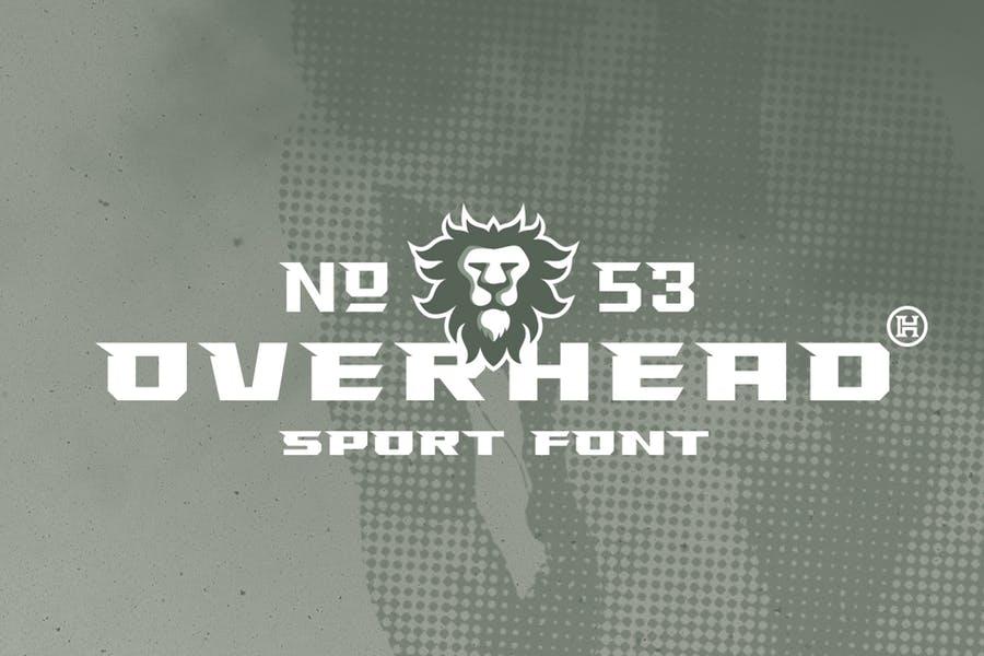 Geometric Sports Brand Font