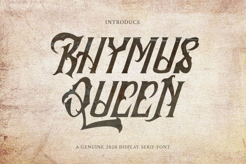 Gothic Style Tattoo Fonts