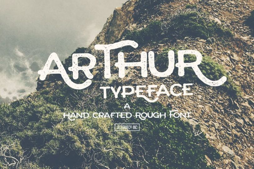 Habdcrafted Arthur Fonts TTF