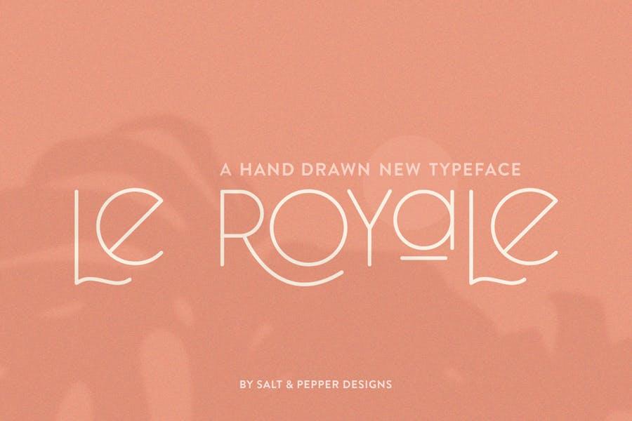 Hand Drawn Royal fonts