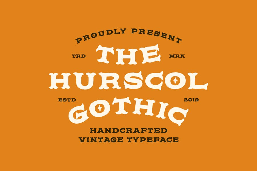 Handcrafted Vintage Gothic Fonts