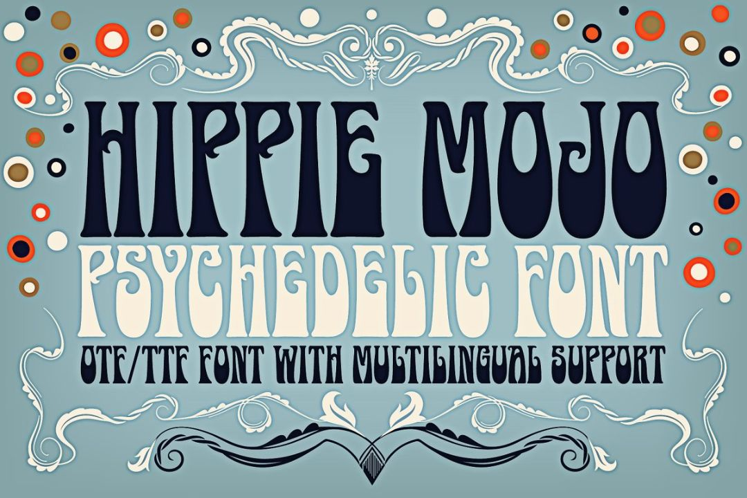 Hippie Trippe Music Fonts