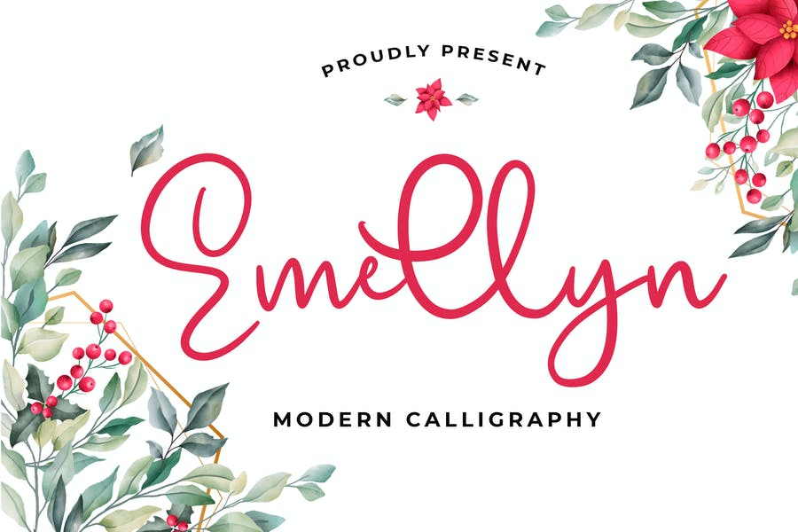 Lovely Modern Calligraphy Fonts