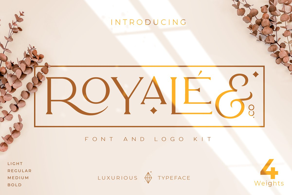 Luxurious Royale Fonts