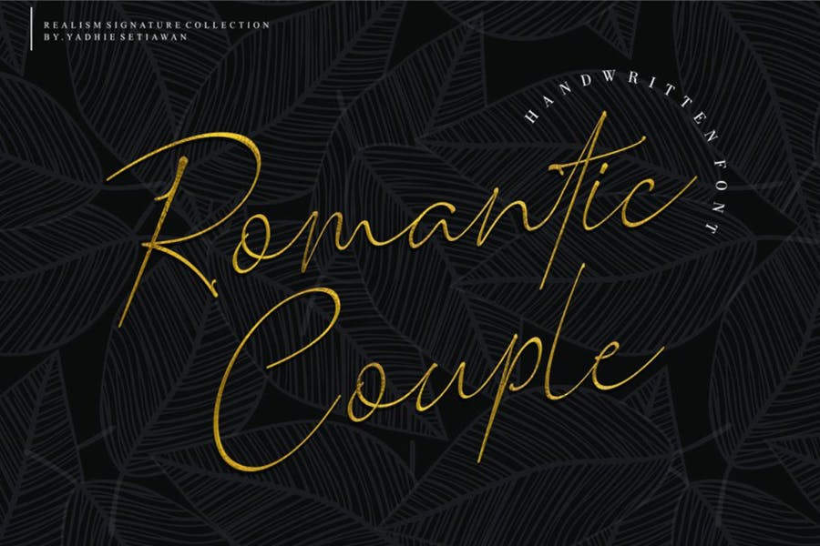 Luxury and Romantic Fonts